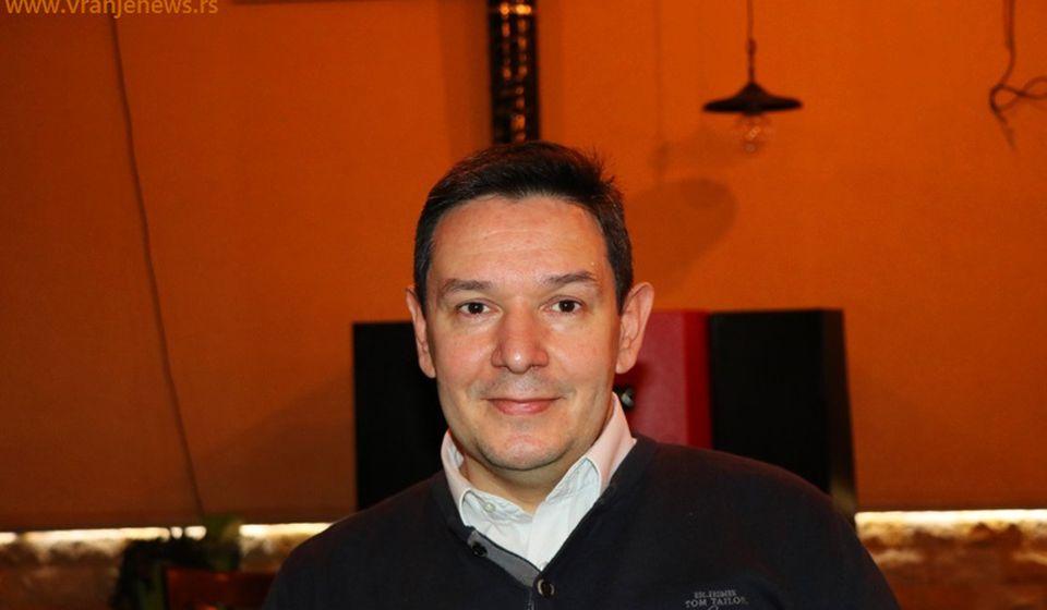 Nemanja Šarović. Foto Vranje News