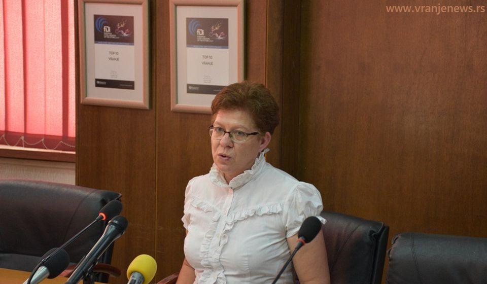 Danijela Milosavljević, većnica za socijalna pitanja lokalnu samoupravu i nova portparolka veća. Foto Vranje News