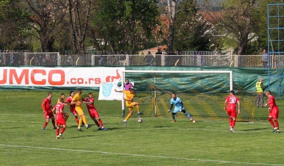 Dinamo na startu dva puta domaćin. Foto VranjeNews