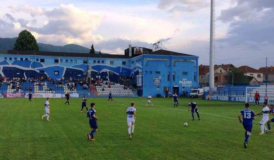 Radnik poražen u utakmici bez značaja. Foto FK Radnik