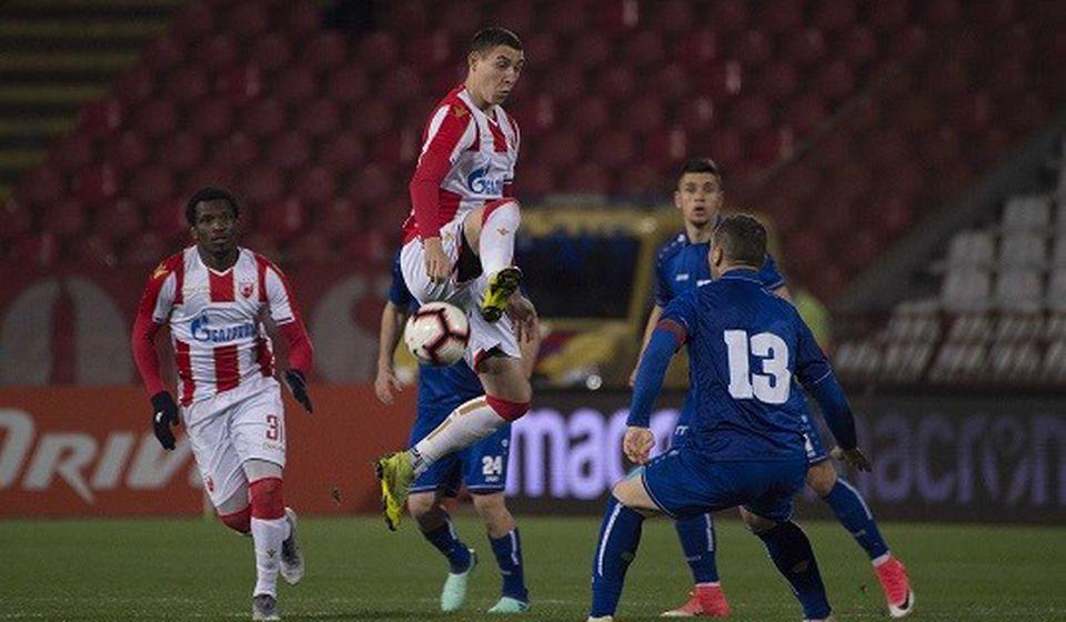 Detalj sa ovogodišnje utakmice Radnika i šampiona Srbije u kupu. Foto FK Crvena zvezda