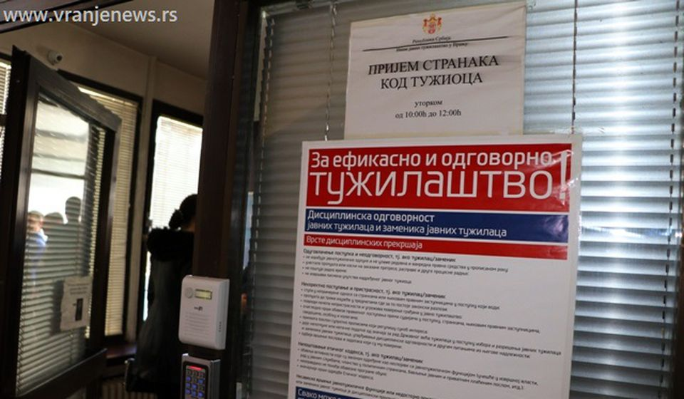 Više javno tužilaštvo. Foto Vranje News
