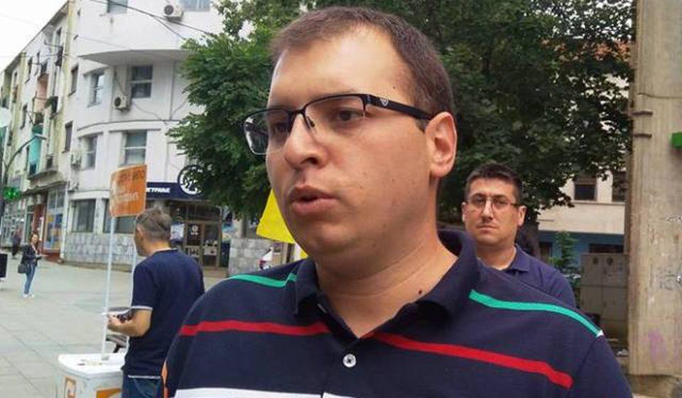 Đorđe Ristić (NS). Foto VranjeNews