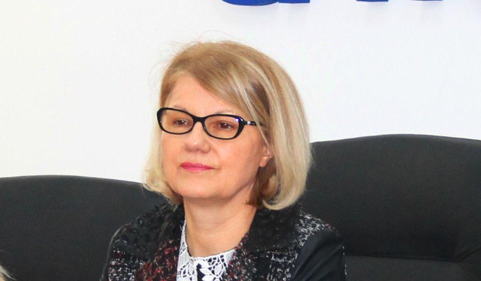 Ljiljana Antić na današnjoj konferenciji za medije. Foto VranjeNews