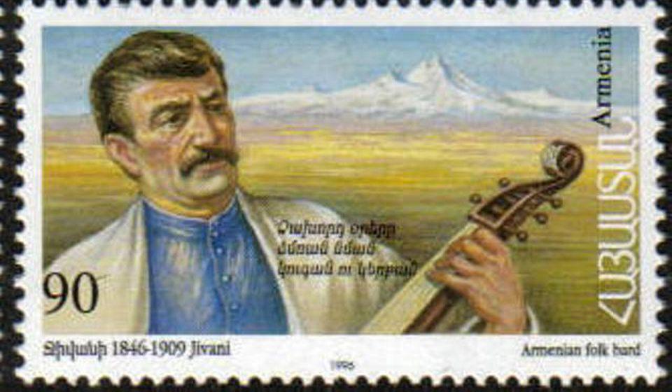 Ašag Đivani, jedan od najvećih narodnih pesnika Jermenije. Foto Wikipedia