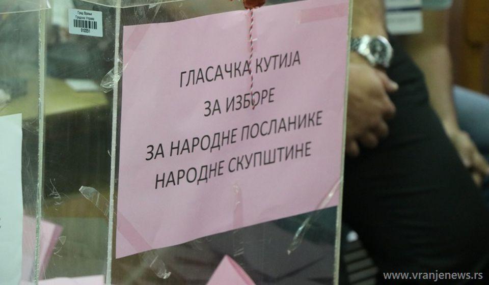 Izlaznost 40,95 procenata. Foto Vranje News