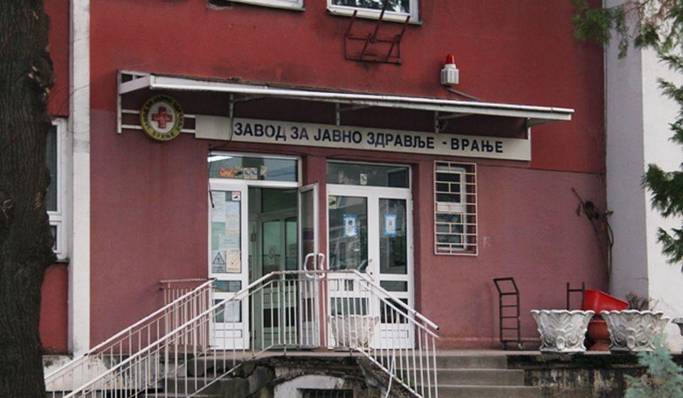 Zavod za javno zdravlje. Foto VranjeNews