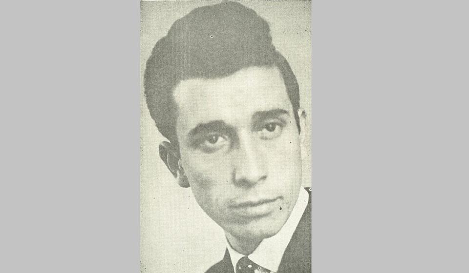 Lazar Vučković (1937-1966). Foto lična arhiva Radosava Stojanovića