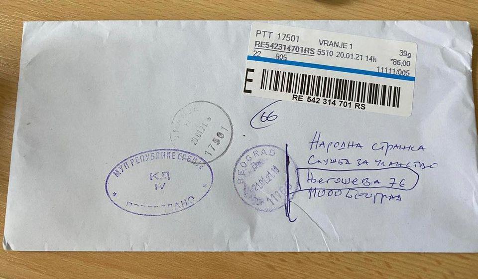 Iz NS podsećaju da je tajnost pisma nepovrediva. Foto lična arhiva