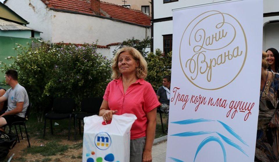 Pobednica: Dobrila Šošić. Foto VranjeNews