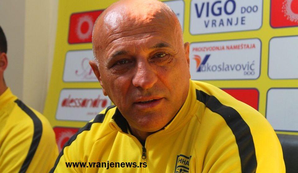 Potpisao sam ugovor: Dragan Antić. Foto VranjeNews