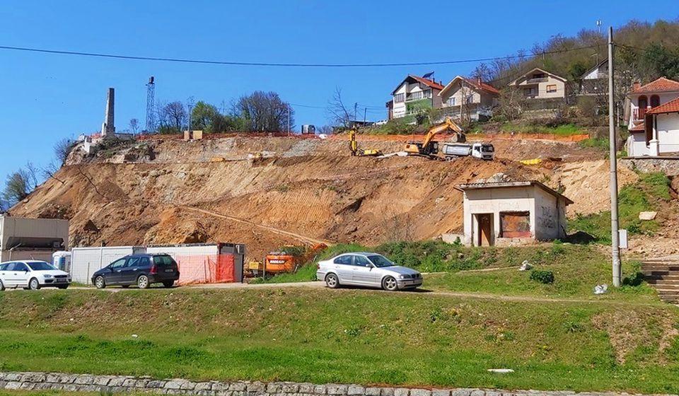 Lokacija za izgradnju hotelskog kompleksa u Vranjskoj Banji. Foto Vranje News
