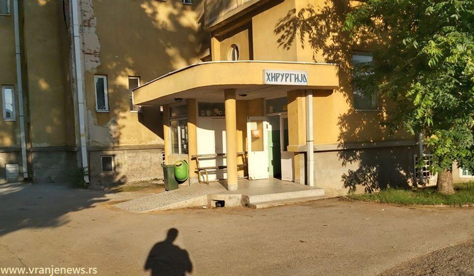 Zgrada stare Hirurgije pretvorena u COVID bolnicu. Foto Vranje News
