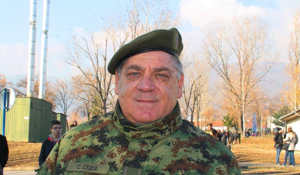General Slobodan Stopa. Foto VranjeNews