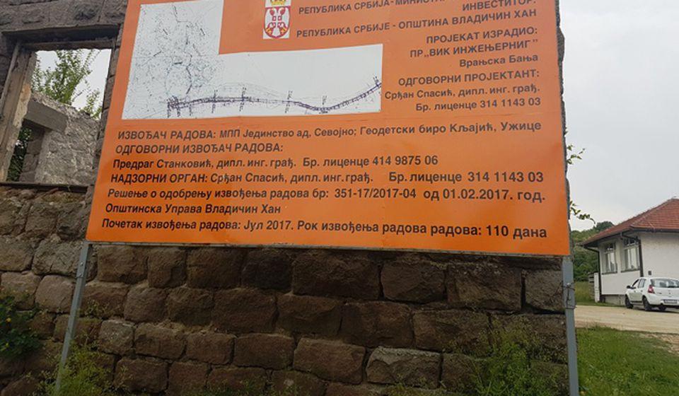 Konačno vodovodna mreža u Mazaraću. Foto VranjeNews