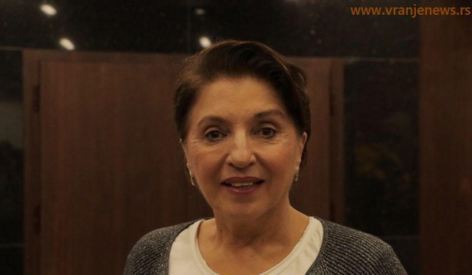 Mirjana Karanović. Foto VranjeNews