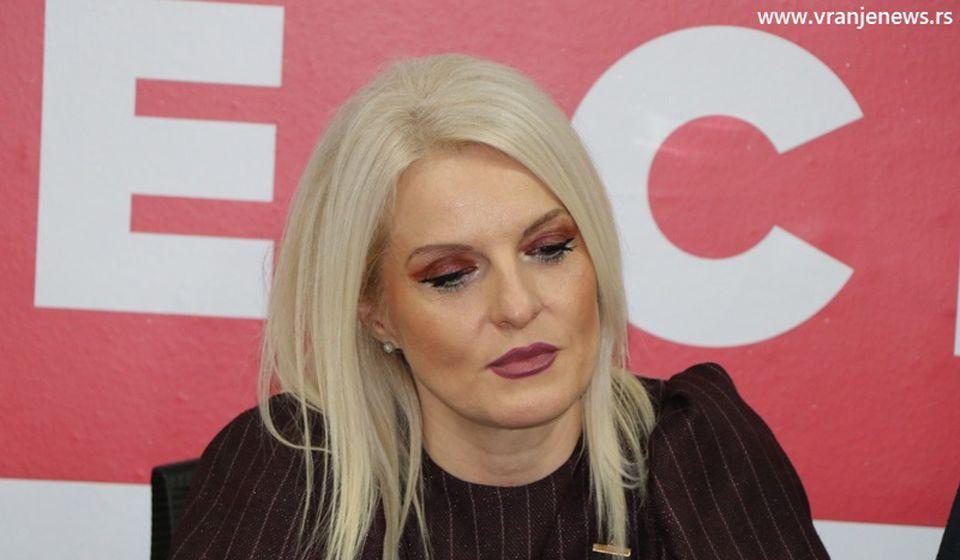 Mirjana Ilić Stošić, predsednica SSP Vranje. Foto Vranje News