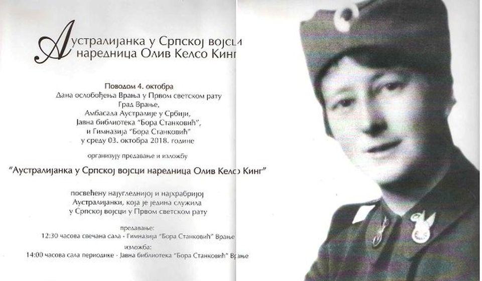 Oliv Kelso King. Foto plakat