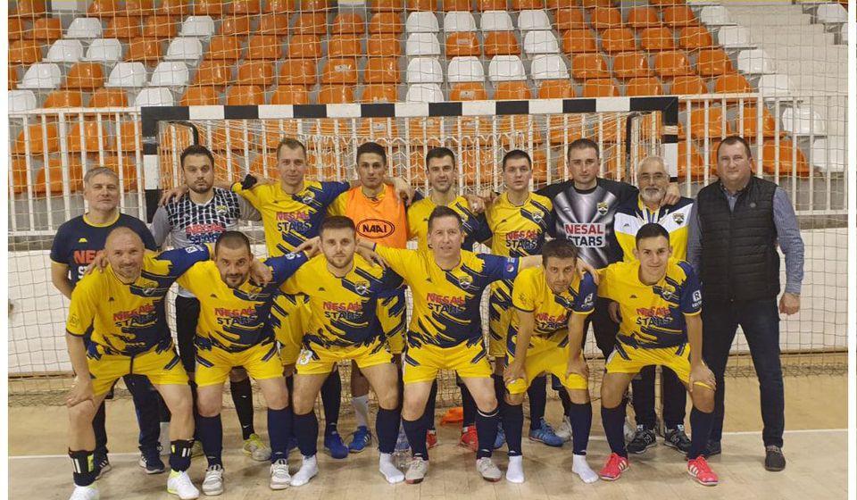 Ekipa koja je završila prethodnu sezonu. Foto KMF Vranje