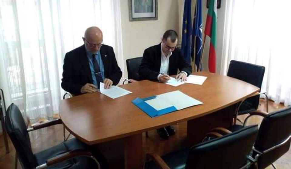 Potpisivanje ugovora. Foto BSC