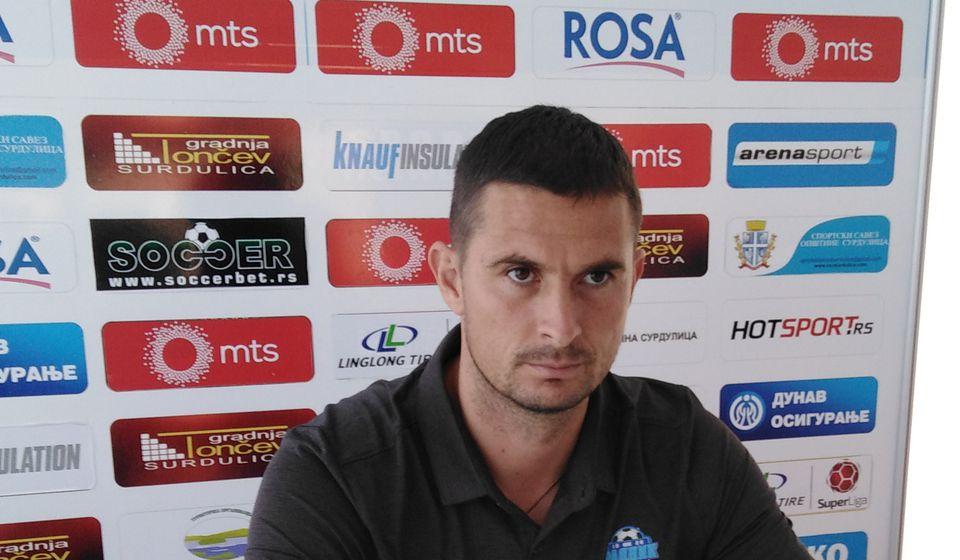 Slavoljub Đorđević. Foto FK Radnik