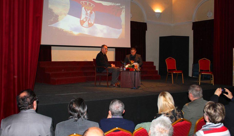Skup u organizaciji gimnazije i Biblioteke Bora Stanković održan je u Domu Vojske. Foto VranjeNews