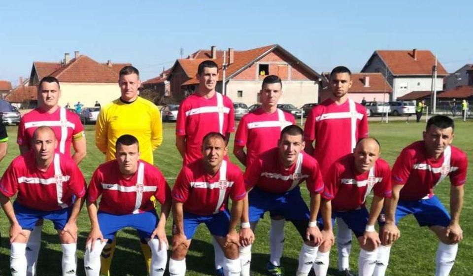 Vranjanci ostali neporaženi u Alakincu. Foto FK Nebeski anđeli