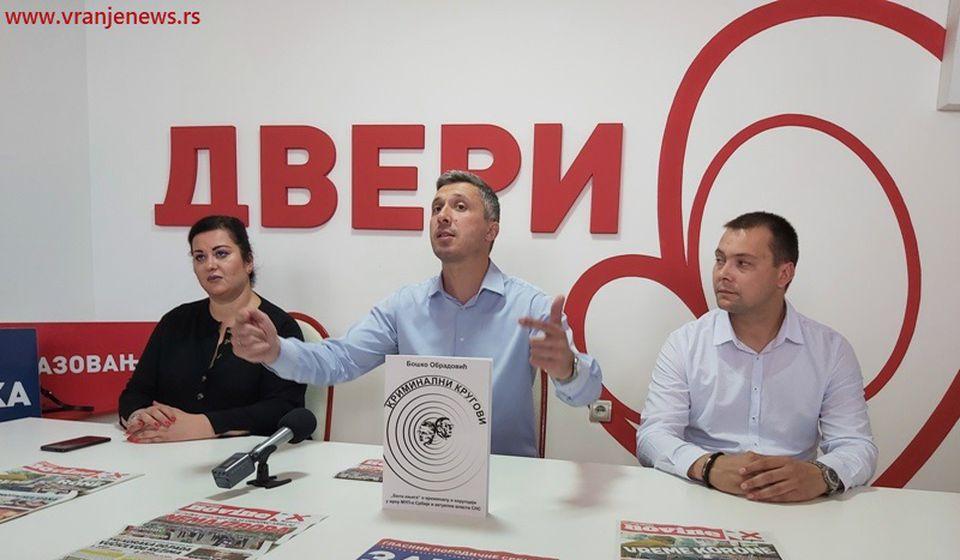U Vranju postoji pozitivna opoziciona atmosfera, naglasio Obradović. Foto Vranje News