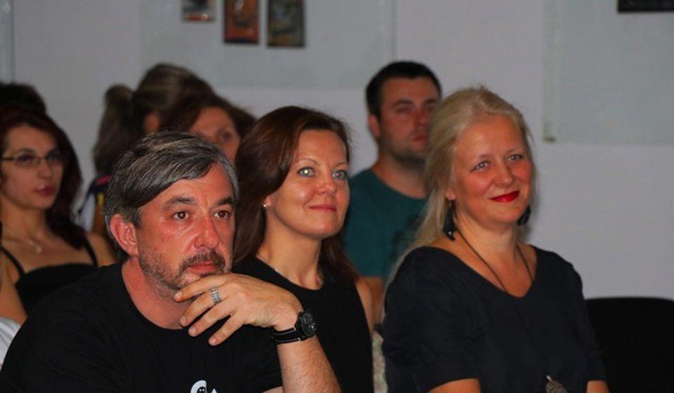 Članovi žirija festivala. Foto VranjeNews