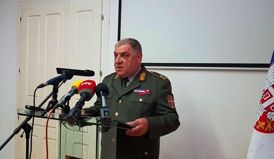 Komandant Četvrte brigade KoV brigadni general Slobodan Stopa. Foto Vranje News