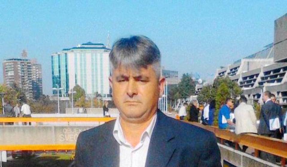 Slavoljub Ristić predvodio štrajkače. Foto privatna arhiva