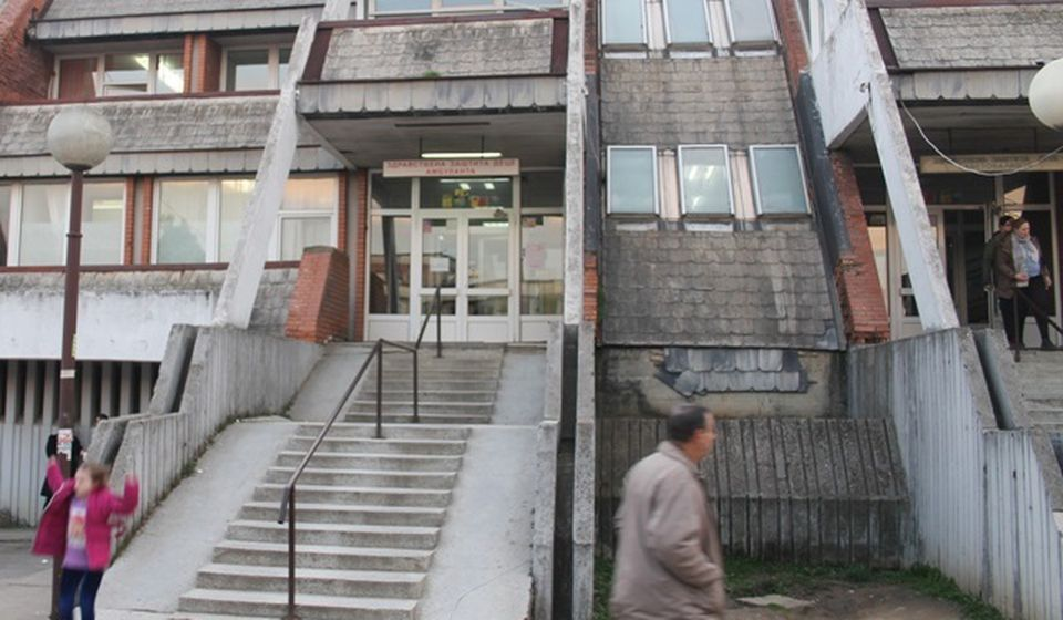Od bolnice do bolnice: Dečji dispanzer Doma zdravlja u Vranju. Foto Vranje News