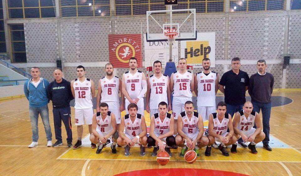 Dobili sve četvrtine: Jugbasket. Foto FB