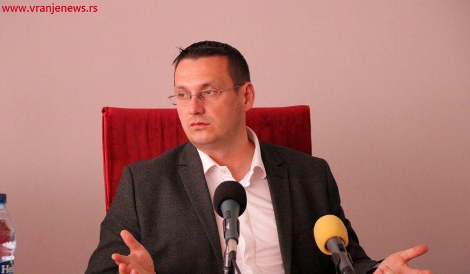 Ispunili smo sve što smo zacrtali: predsednik opštine Goran Mladenović. Foto Vranje News