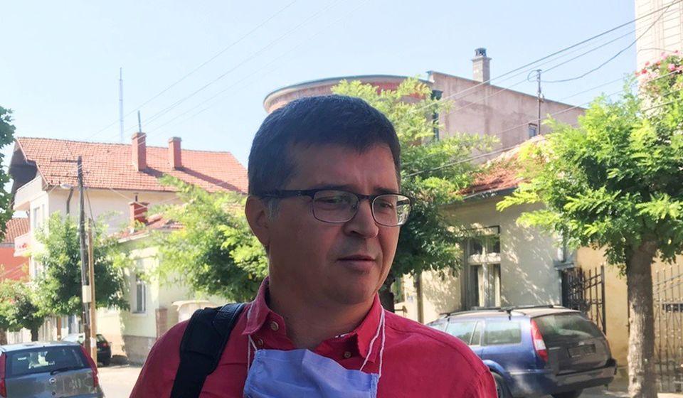 Vladimir Bogdanović, izvršni direktor JP Vodovod. Foto Vranje News