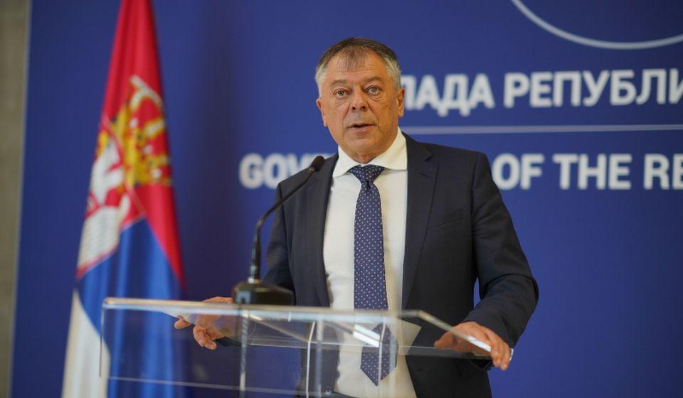 Novica Tončev. Foto Vlada Srbije