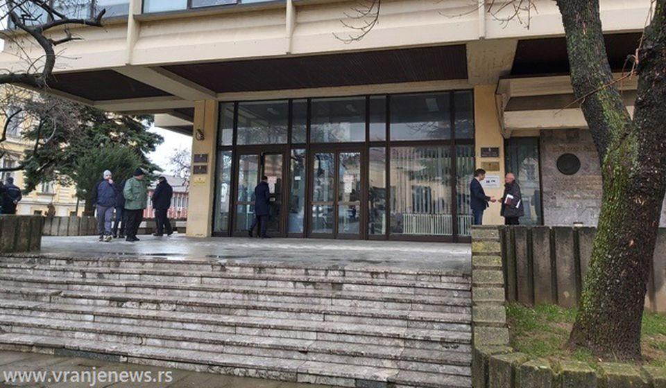 Mesto izricanja prvostepene presude Vujačiću: Viši sud u Vranju. Foto Vranje News