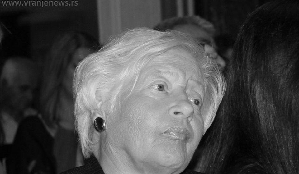 Slavica Stepanenko (1948-2020). Foto Vranje News