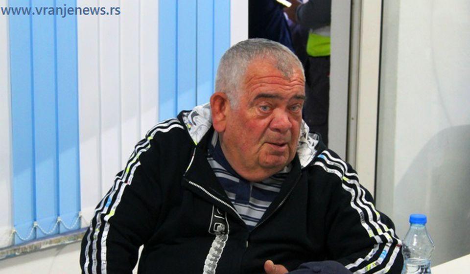 Dragan Milošević Buca. Foto VranjeNews