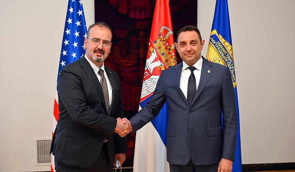 Amerikanci preko ovog programa godišnje daju 4,5 miliona dolara pomoći srpskoj policiji. Foto MUP