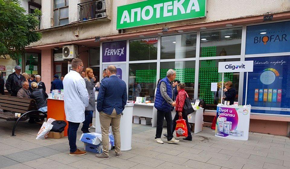 Humanitarna akcija biće održana ispred Apoteke 1 u centru Vranja. Foto VranjeNews
