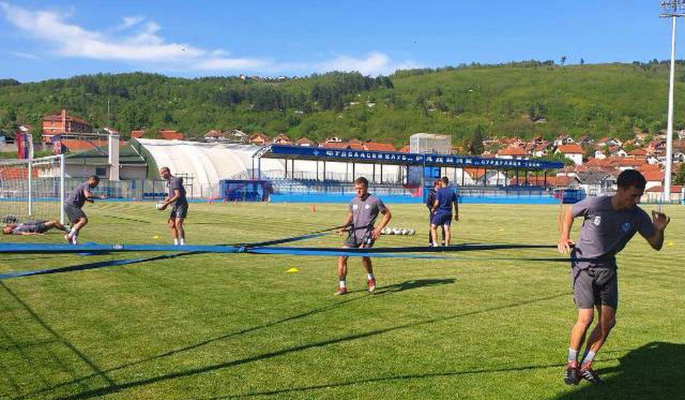 Ubrzane pripreme za nastavak šampionata Super lige. Foto FK Radnik