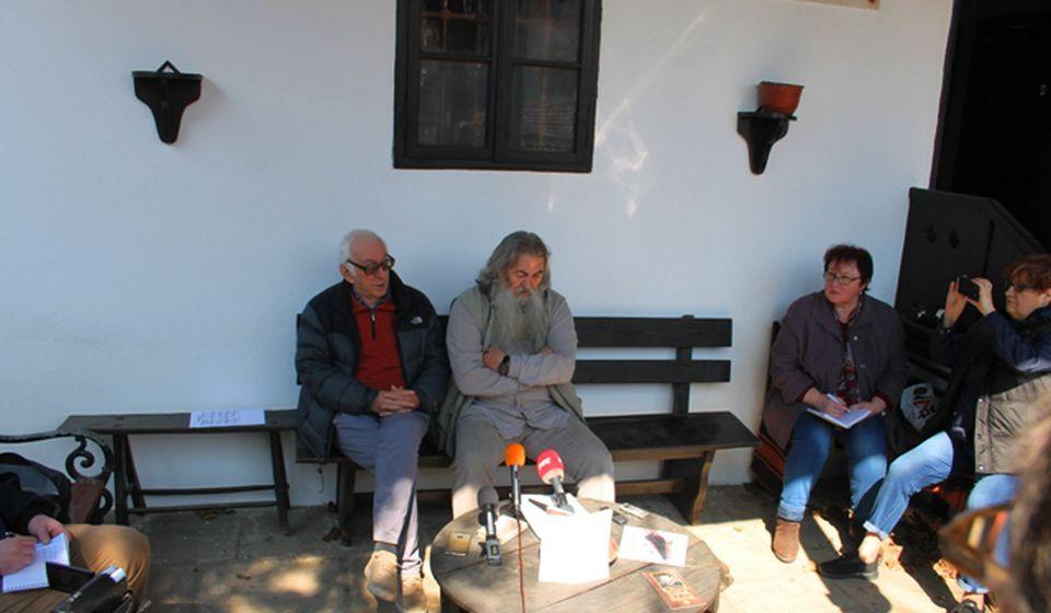 Konferencija za medije u Borinoj kući. Foto VranjeNews