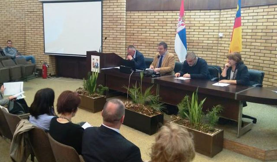 Javna sednica u skupštini grada. Foto VranjeNews