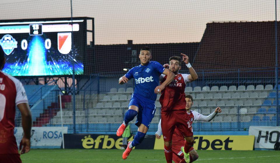 Surduličani propustili da u 86. minutu dođu do boda sa bele tačke. Foto FK Radnik