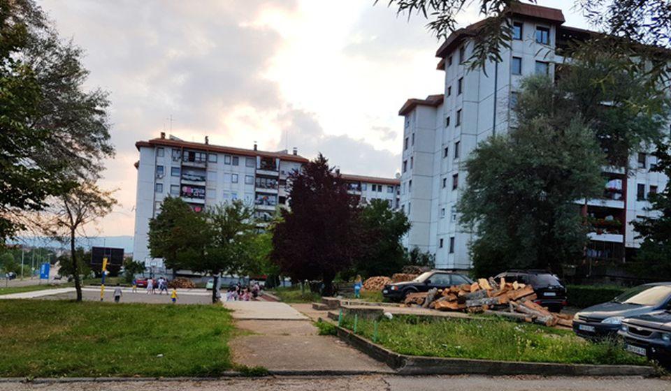 Naselje Ledene stene. Foto VranjeNews
