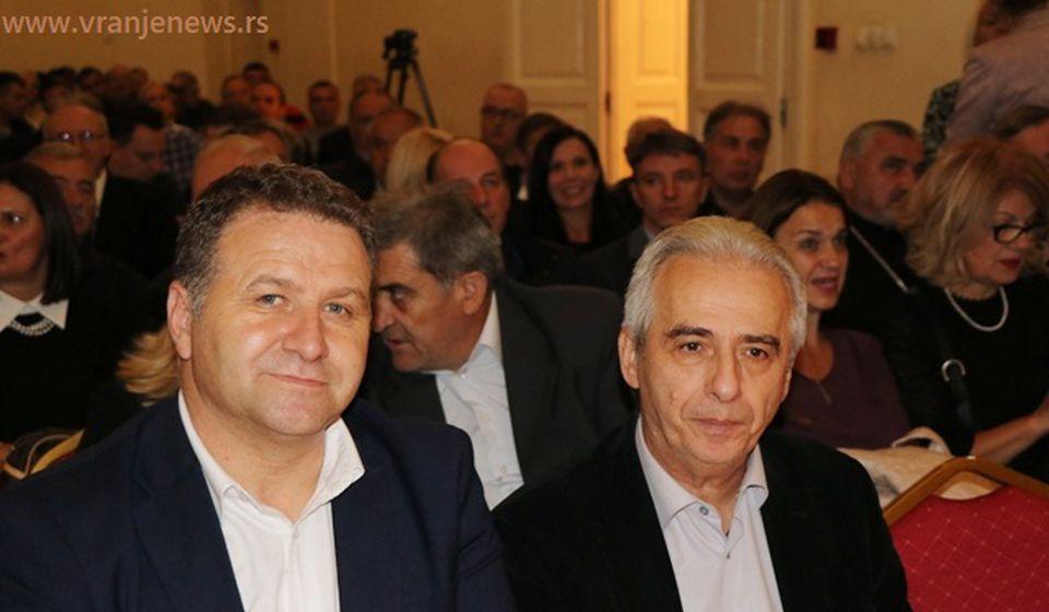 Drecun u društvu predsednika opštine Medveđa Nebojše Arsića. Foto VranjeNews