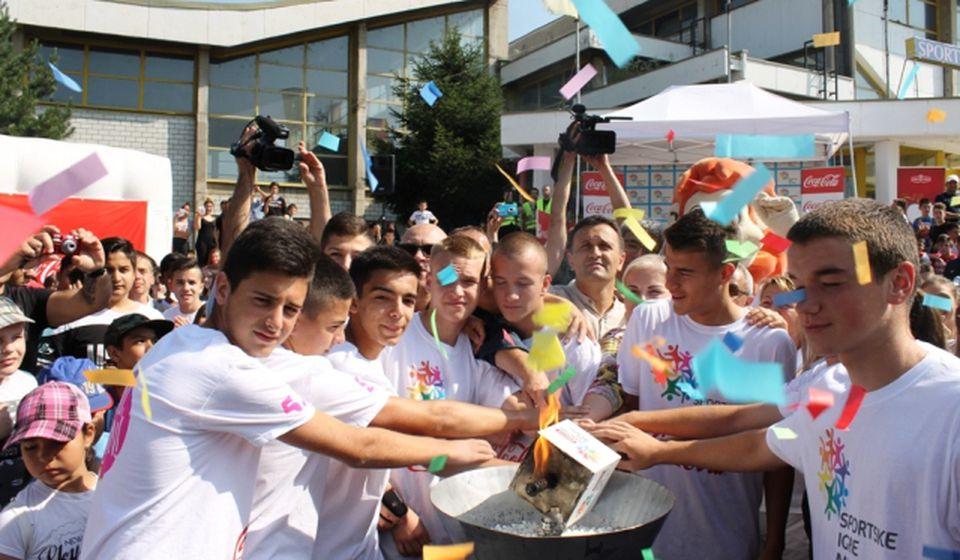 Karavan radosti i prijateljstva u Vranju. Foto Grad Vranje