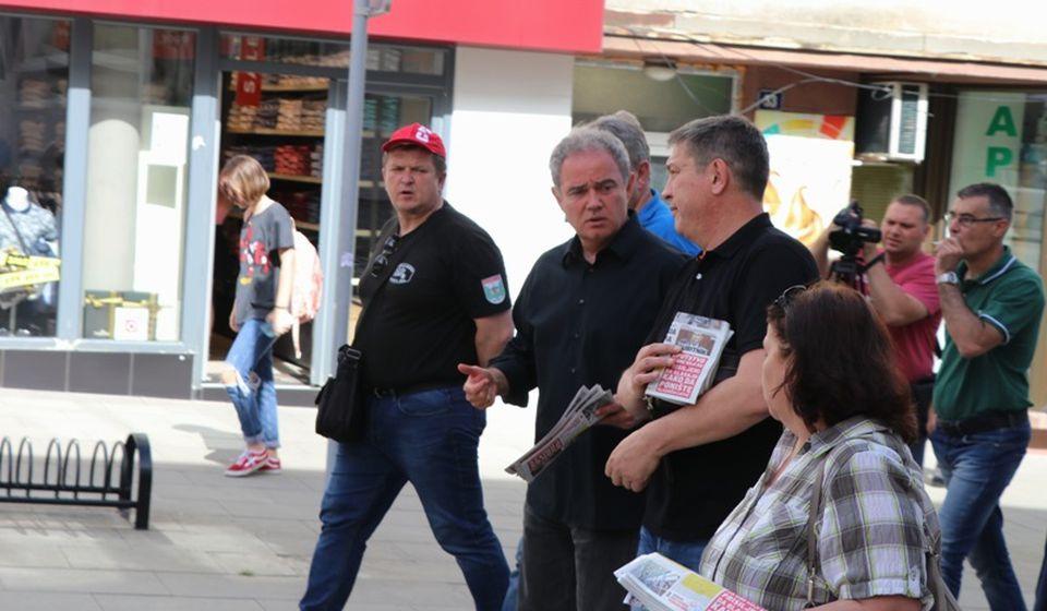Bojkot, pa promena vlasti. Foto Vranje News