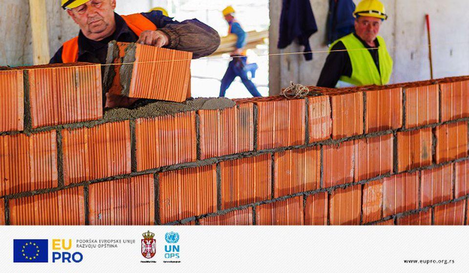 Podrška EU u unapređenju lokalne infrastrukture. Foto Gad Vranje